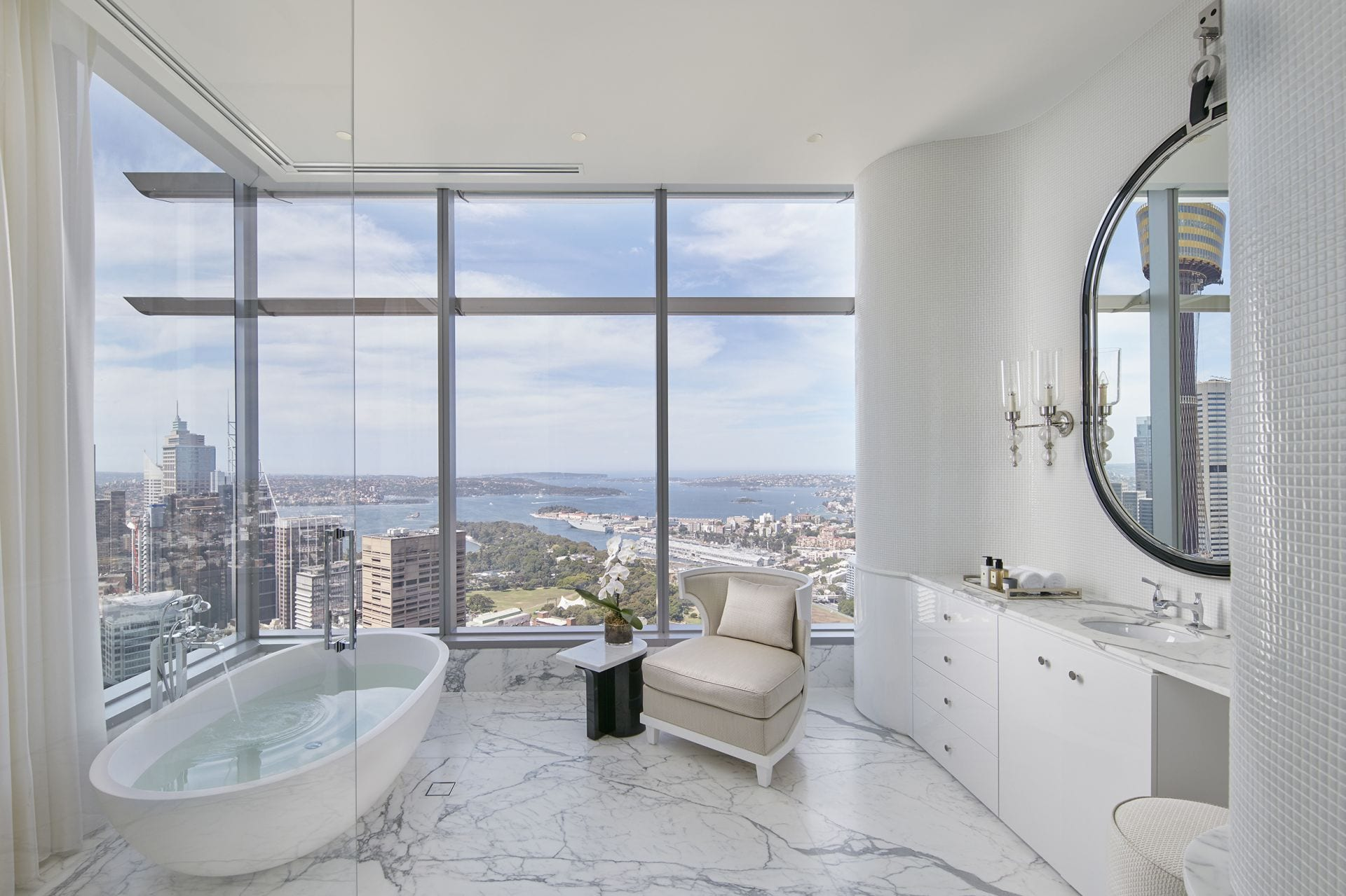 Certainly the best penthouse ever offered in Australia, if not the world.