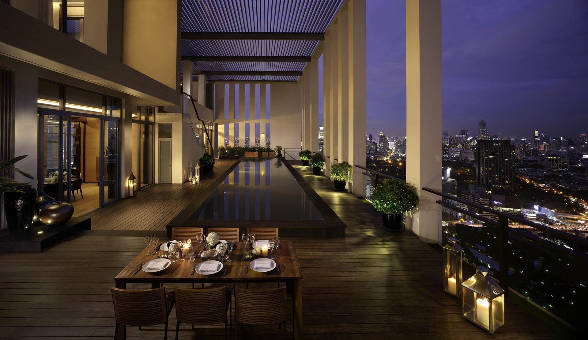 The Sukhothai Residences, Bangkok, Penthouse